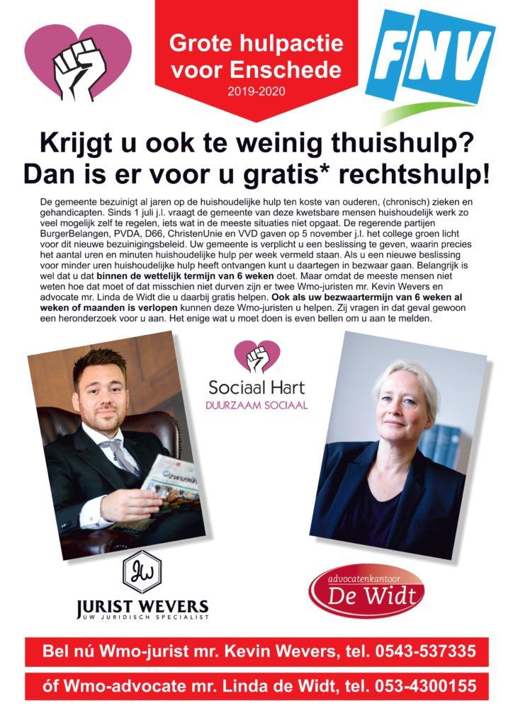 Sociaal Hart Flyer